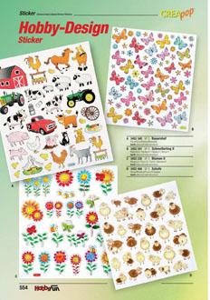 Sticker *Fische* 3452320 NEU Design Hobby