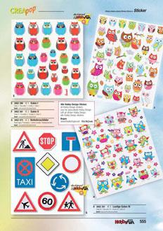 Design Sticker *Baufahrzeuge* 3452420 NEU Hobby