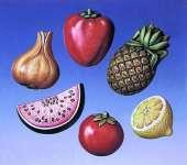 2000224 Giessform Früchte 6 Motive     *