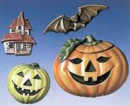 2000225 Giessform Halloween 4 Motive   *