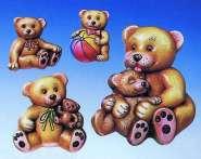 2000227 Giessform Bären