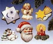 2002005 Giessform Weihnachtsdeko I     *