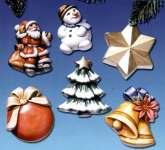 2002006 Giessform Weihnachtsdeko II    *