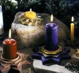 2002010 Giessform Kerzenhalter Sterne
