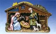 2002017 Giessform Weihnachtskrippe     *
