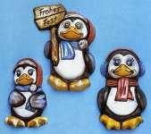 2002025 Giessform Lustige Weihnachts Pingu    *