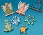 2002029 Giessform Weihnachts-Anhänger  *