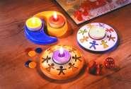 2002034 Giessform Schutzengel Teelicht *
