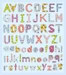 3452312 Hobby-DesignSticker Buchstaben