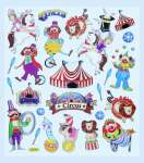 3452322 Hobby-Design Sticker Zirkus