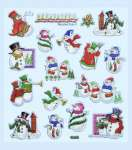 3452324 Hobby-Design Sticker Schneemann