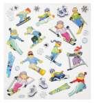 3452333 Hobby-Design Sticker Skifahrer