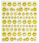 3452347 Hobby-Design Sticker Smiley