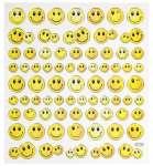 3452347 Hobby-Design Sticker Smily