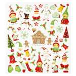 3452364 Design Sticker Weihnachten IV