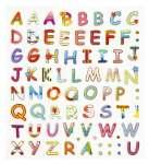 3452385 Design Sticker Buchstaben