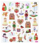 3452395 Design Sticker Weihnachten VIII