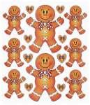 3452417 Design-Sticker Lebkuchen-Männchen