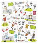 3452419 Design-Sticker Fussball II