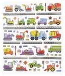 3452420 Design-Sticker Baufahrzeuge