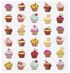 3452439 Design-Sticker Muffin
