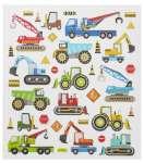 3452449 Design-Sticker Baufahrzeuge II