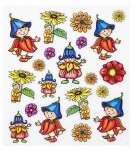3452454 Sticker Blumen-Kinder