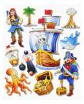 3452500 3 D Sticker XXL Piraten I