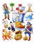 3452500 3 D Sticker XXL Piraten I