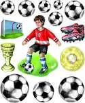 3452519 3 D Sticker XXL Fussball