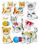 3452555 3 D Sticker XXL Katzen