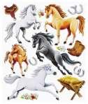 3452565 3 D Sticker XXL Pferde II