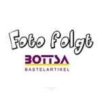 3865516 Blume mit Perle in leinen-optik, 2,5cm, 6St.