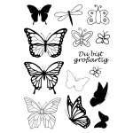 4511226 Stempel Clear Schmetterlinge