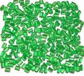 524167 Schmelzgranulat hellgrün