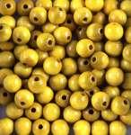 551220 Holzperlen 12mm  38St gelb