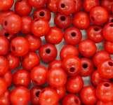 550440 Holzperlen  4mm 200St rot