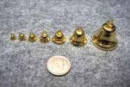 571508 Glocken Messing  8mm      100 St