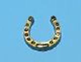588062 Hufeisen 15mm gold       100 St.