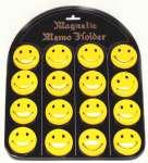 588173 Smily gelb 45mm auf Magnettafel