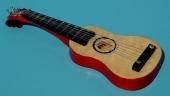 588967 Gitarre Holz hell 8cm