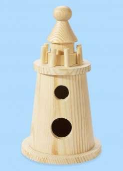 3270144 Holz-Leuchtturm       7.5x15cm *