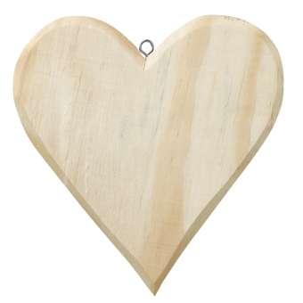 3270213 Holz-Herz  16x15cm