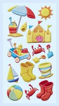 3451269 Softy-Sticker Strand-Urlaub
