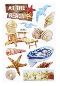 3451524 Sticker Beach I