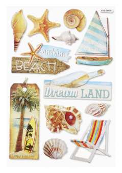 3451525 Sticker Beach II