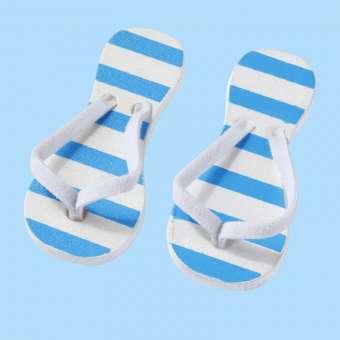 3860626 Flip-Flops 3cm gestreift Btl. à 2Paar