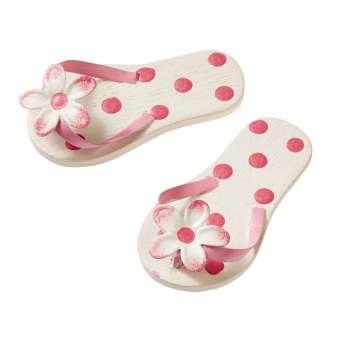 3861400 Flip-Flops 4.5cm rosa Punkte