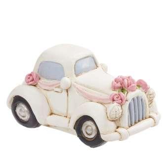 3870769 Hochzeits-Auto, vintage, 5cm