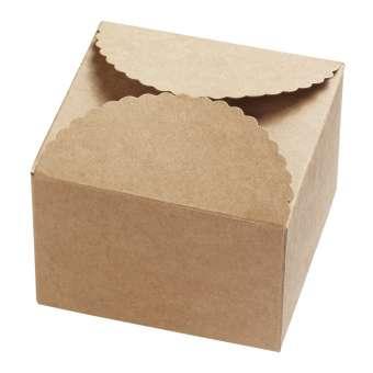 3964104 Papier-Box, natur, 90x90x50, 2St.